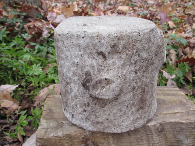 how to make a concrete base for a statue